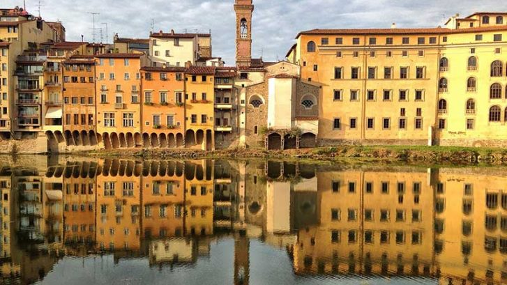 immagine del lungarno di Firenze
