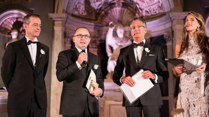 la premiazione di Villa Donatello durante il Galà ANT a Firenze