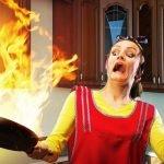 La sicurezza in cucina contro le ustioni – [Infografica]