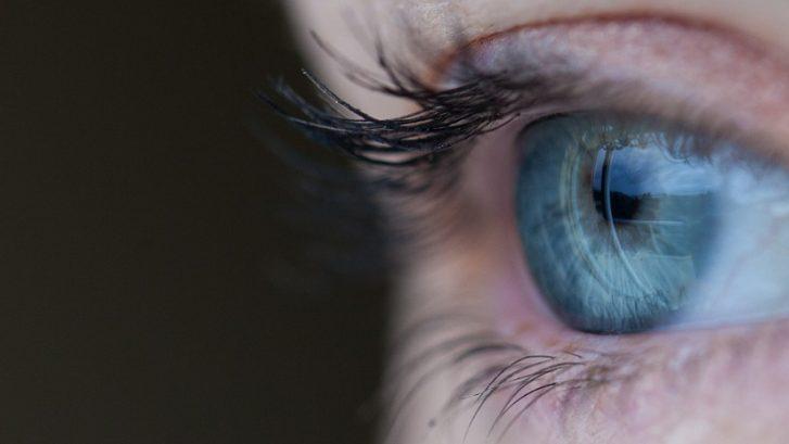 immagine ravvicinata di un occhio umano