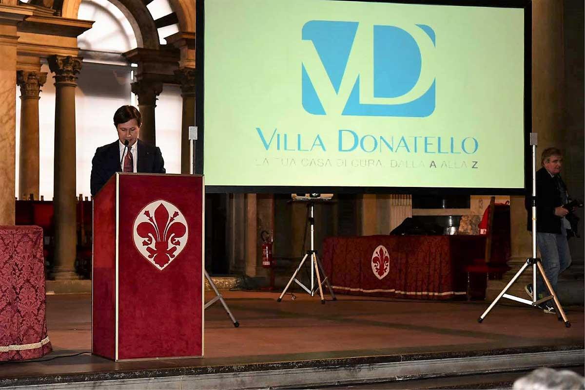 Il Sindaco di Firenze Dario Nardella alla presenta la nuova Stagione Sportiva del Rugby Club I Medicei di Firenze
