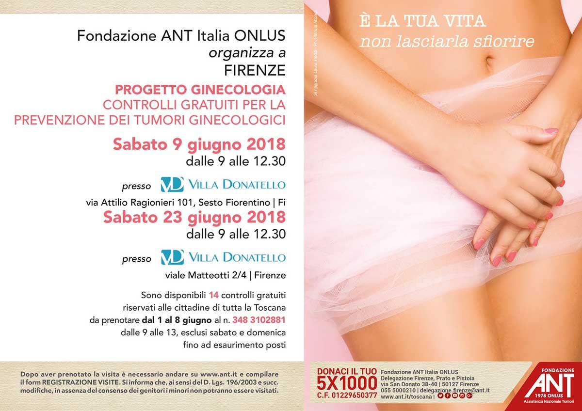 Prenotazioni Visite Villa Donatello Firenze