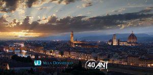 panoramica di Firenze dall'alto
