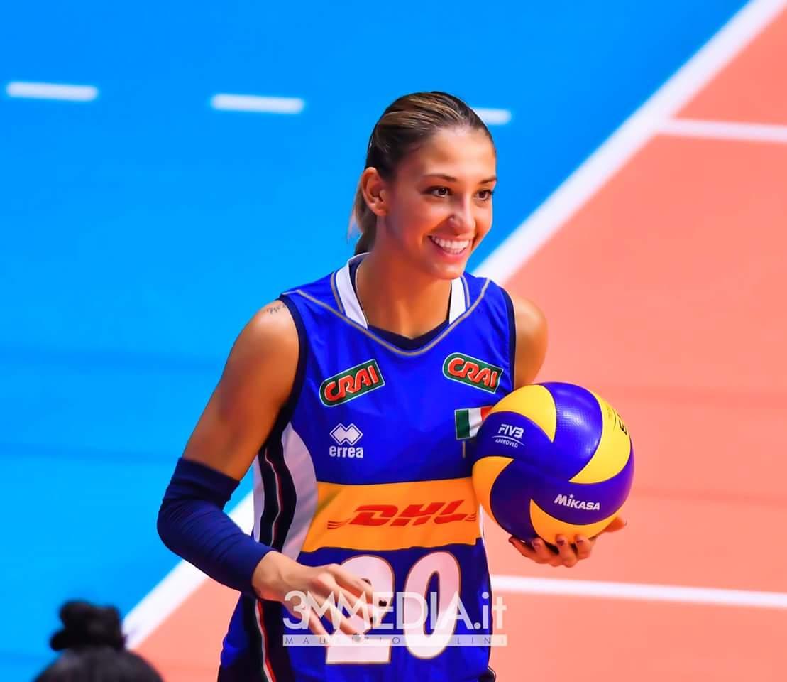 Beatrice Parrocchiale, giocatrice di volley de Il Bisonte Azzurra Volley e della Nazionale Italiana