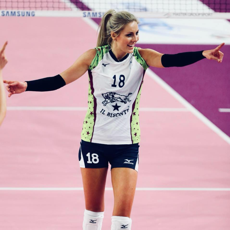 Laura Dijkema, giocatrice di pallavolo de Il Bisonte Azzurra Volley San Casciano e della Nazionale olandese