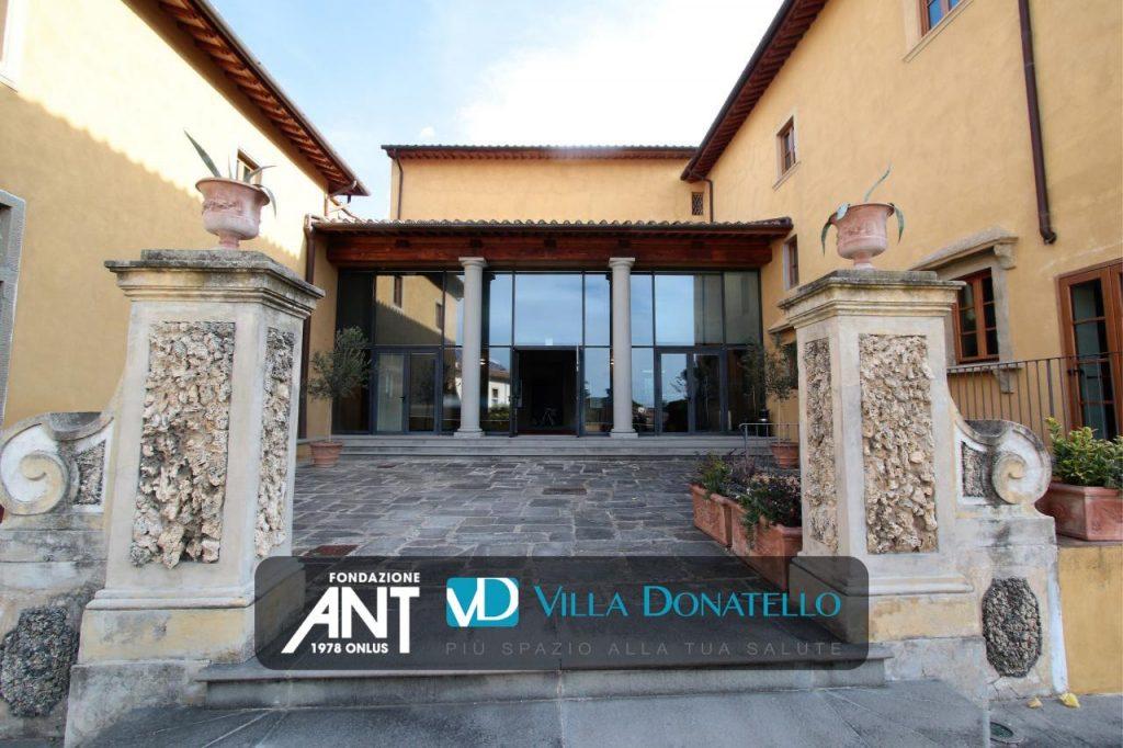 una delle facciate di Villa Ragionieri a Sesto Fiorentino