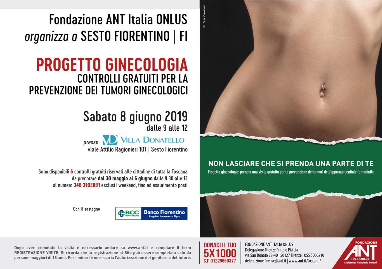 locandina progetto ginecologia giugno 2019