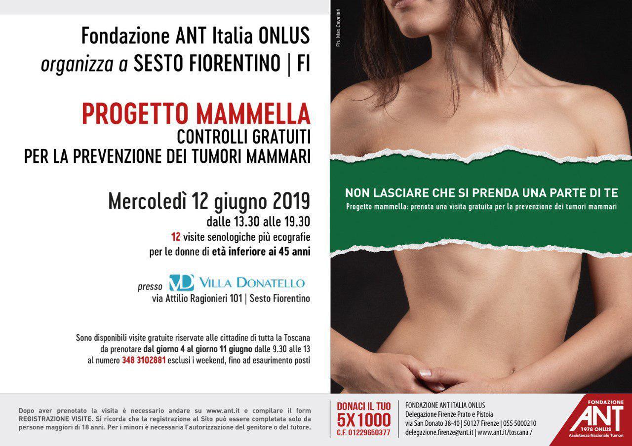 locandina del progetto mammella