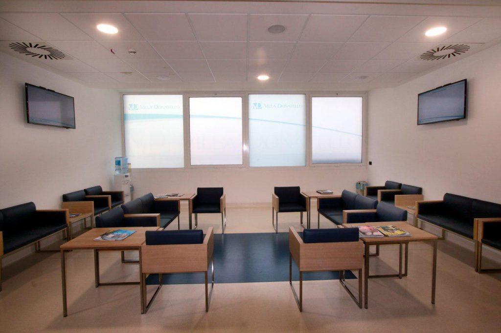sala d'attesa di Villa Ragionieri