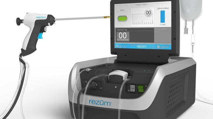 immagine del macchinario REZUM per la terapia dell'iperplasia prostatica benigna con il vapore acqueo