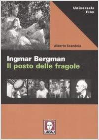 """Copertina del libro """"Il posto delle fragole"""" di Bergman"""