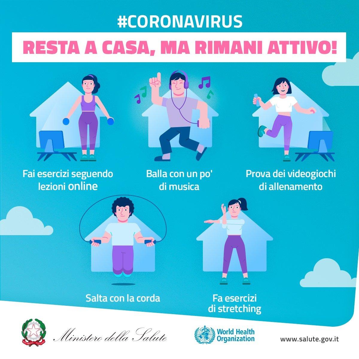 Coronavirus L Attivita Fisica Ai Tempi Del Covid 19