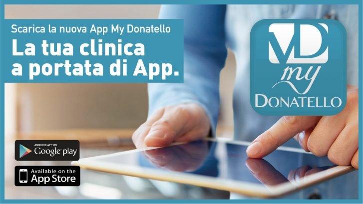 copertina di presentazione della app My Donatello