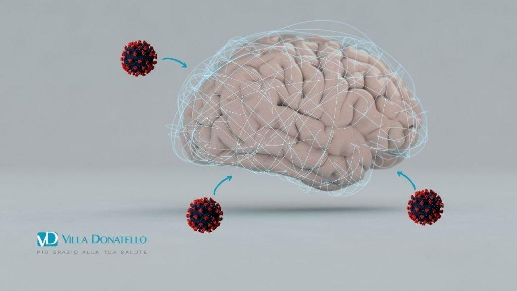 il coronavirus aggredisce il cervello