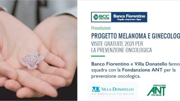 """locandina del progetto """"Gioca d'Anticipo contro il tumore 2021"""