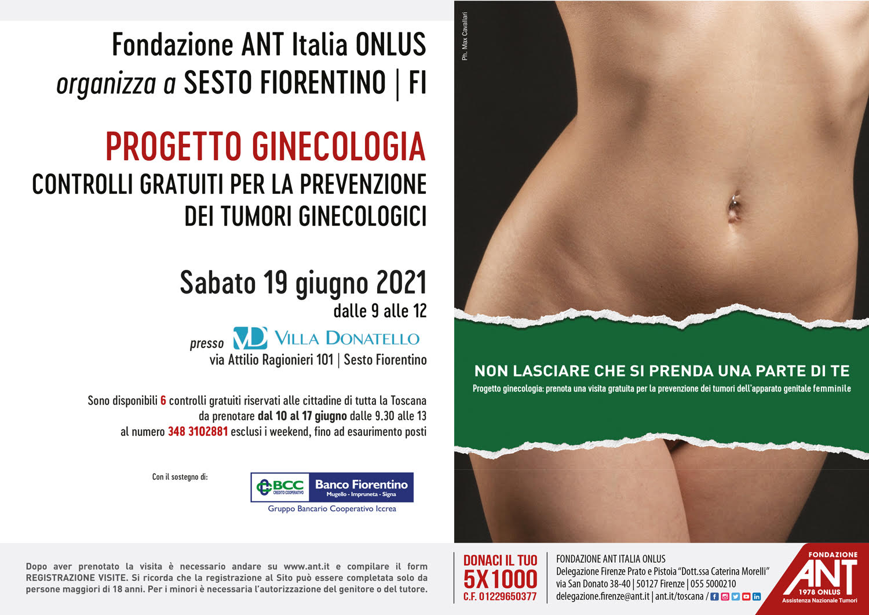 locandina del progetto ginecologia